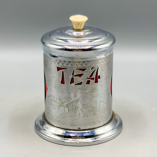 1960s Tea Caddy