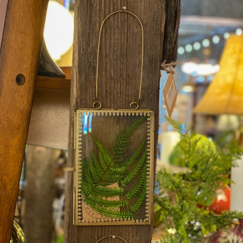 Antique Brass Hanging Picture Frame