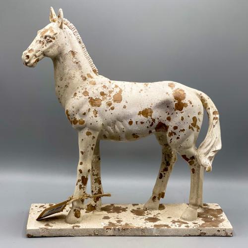 Rustic Horse Figurine
