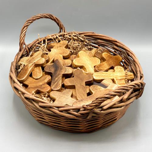 Acacia Wood Mini Cross
