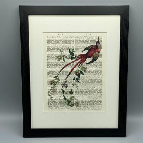 Passion Flower Framed Book Print