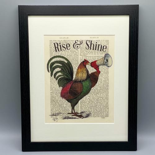 Rise & Shine Framed Book Print