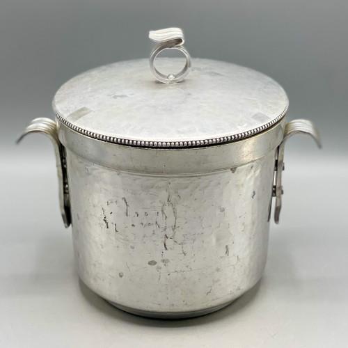 Vintage BW Hammered Ice Bucket