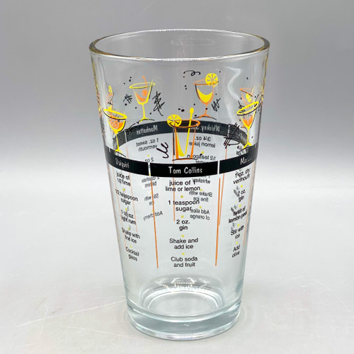 Cocktail Recipe Glass