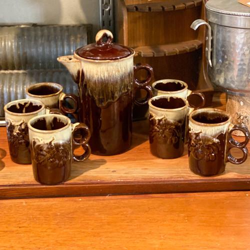 Hot Cocoa Mugs & Pitcher, Japan