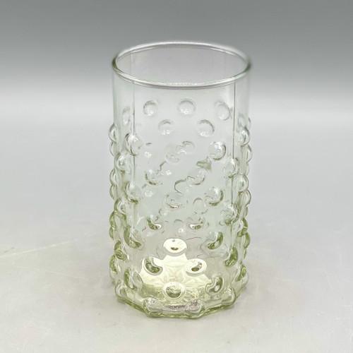 12 oz Hobnail Glass