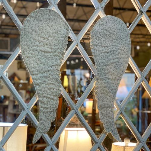 Handmade Fabric Angel Wings