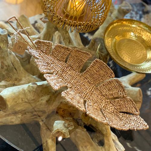 Woven Bangkuan Rope Leaf Basket
