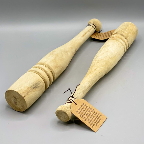 Found Wood Juggling Pin