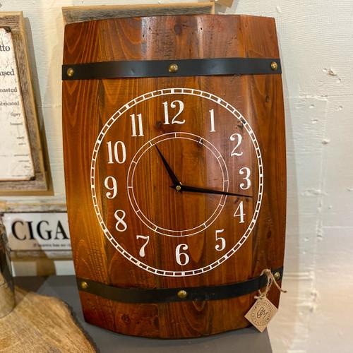 Stock Barrel Wall Clock