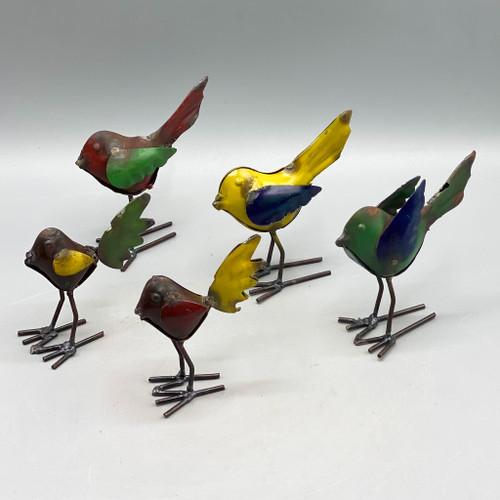 Recycled Metal Bird