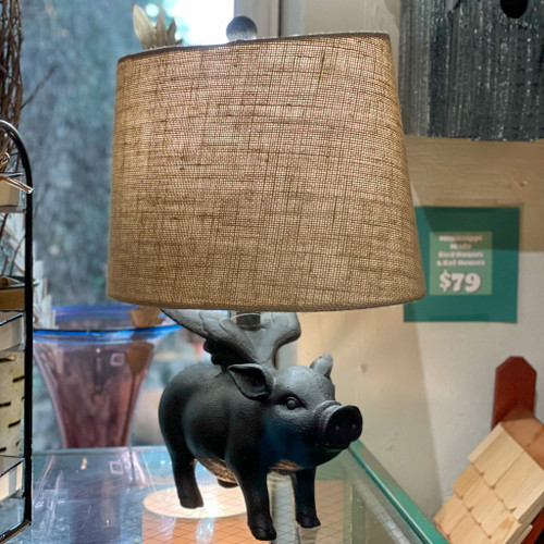 Flying Pig Table Lamp