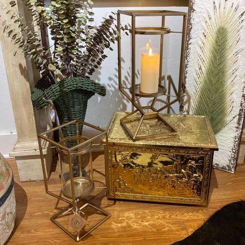 Isadora Gold Lantern Hurricane