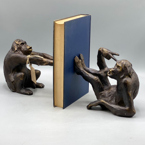 Helping Hands Monkey Bookends