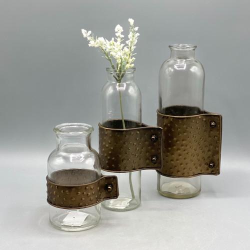 Bottle Glass Vase