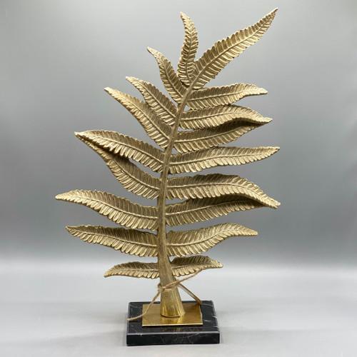 Gold Leaf Sculpture