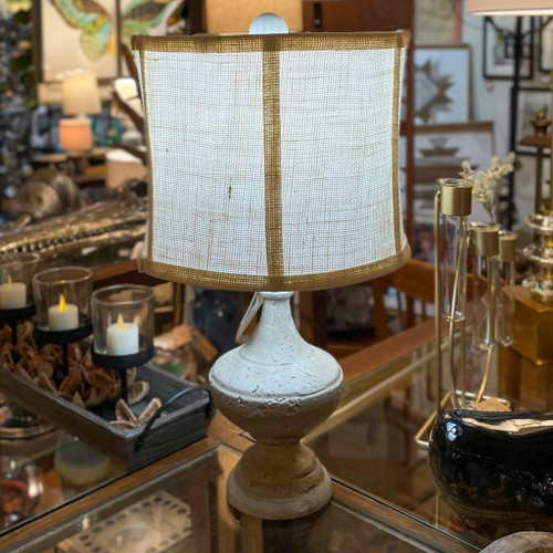 Post Finials Table Lamp