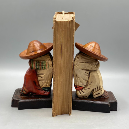 Vintage Weighted Mexican Bookends