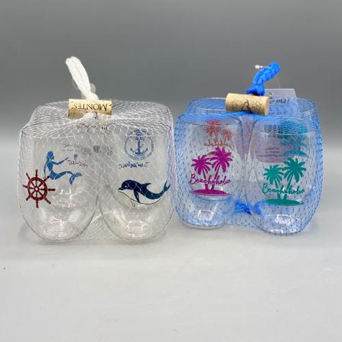 4pk Shatterproof Wine Glasses