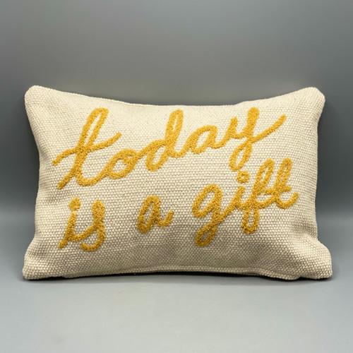 Today is a Gift Lumbar Pillow