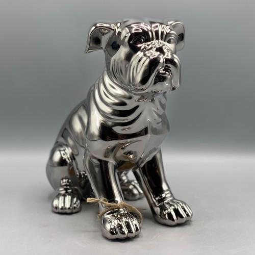 Ceramic Metallic Dog