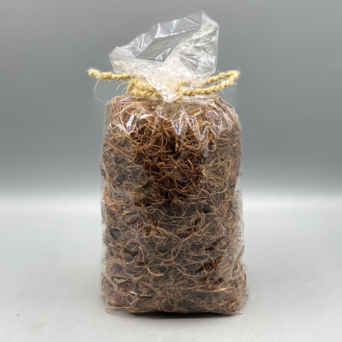 Bag of Natural Curly Brown Moss