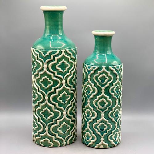 Marrakesh Turquoise Vase