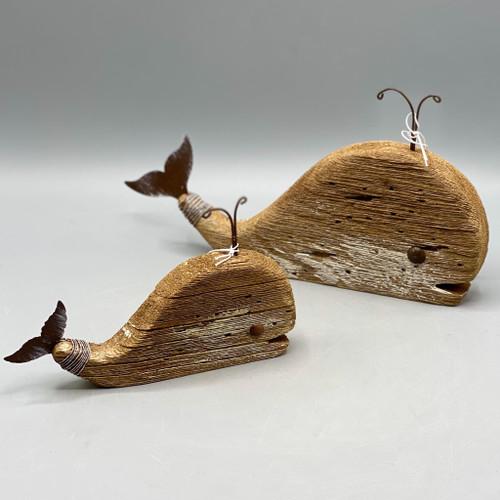 Decorative Wood Whale
