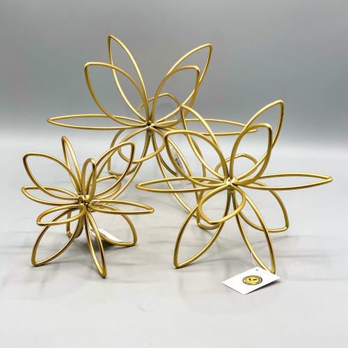Metal Flower Sculpture