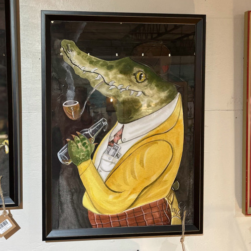 Alligator Piers w/the Pipe Wall Art