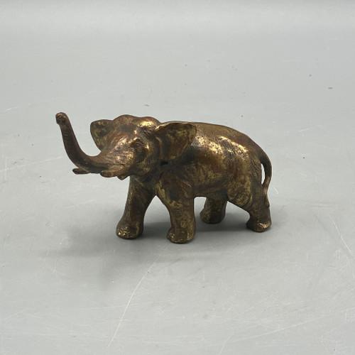 Gold Metal Elephant
