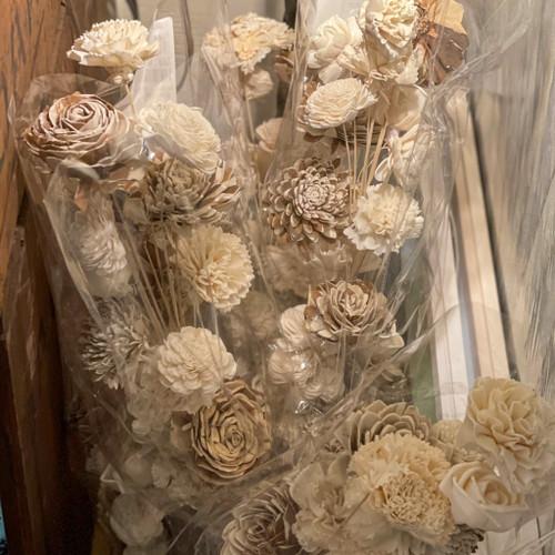 Artificial Sola Flower Bouquet