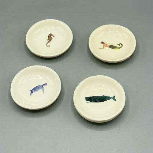 Sea Life Ceramic Dish