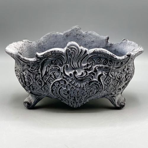 Cast Iron Cachepot, Vintage Reproduction