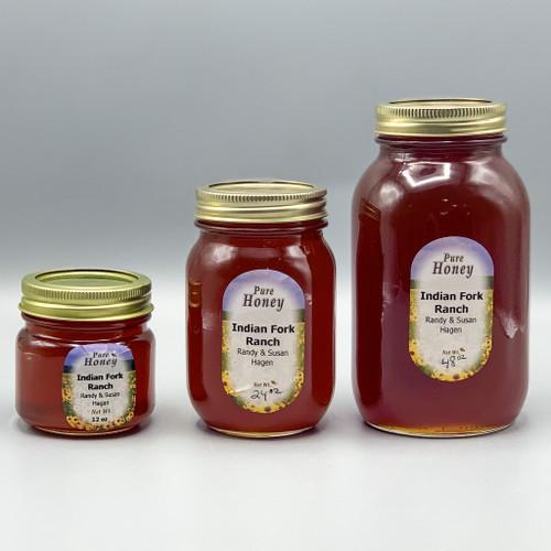 Local Honey, 12 oz, 24 oz & 48 oz