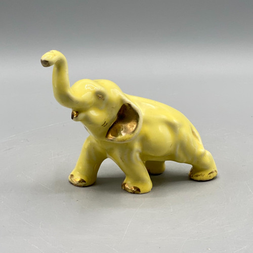 Vintage Yellow Elephant