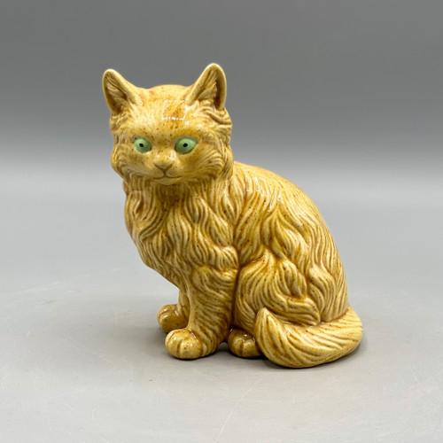 Ceramic Yellow Cat