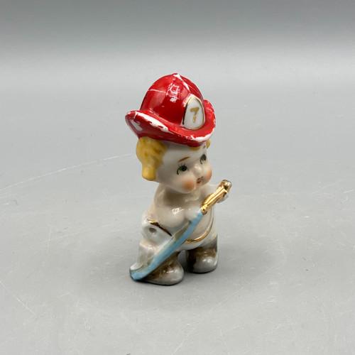 """Vintage """"Souvenir of Hattiesburg, Miss"""" Child Firefighter"""