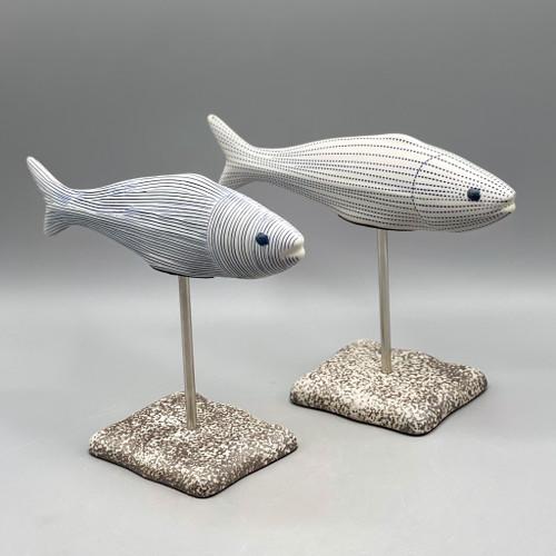 Fish Ceramic Sculpture