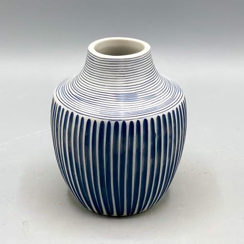 Blue Inca Mini Vase