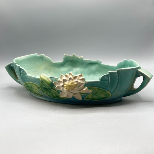 Roseville Pottery Magnolia Oval Bowl
