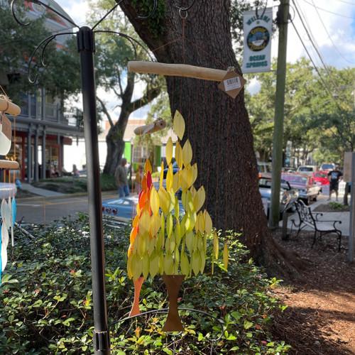 Tree Sea Glass Wind Chime