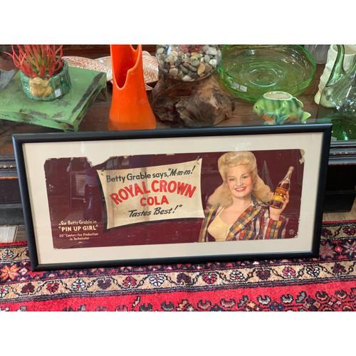 Betty Grable Royal Crown Cola Ad