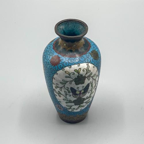 Vintage Small Cloisonne Vase