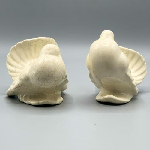 White Ceramic Dove