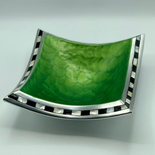 "Julia Knight 8"" Pagoda Bowl, Green"