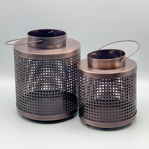 Small & Large Lantern Candle Holder