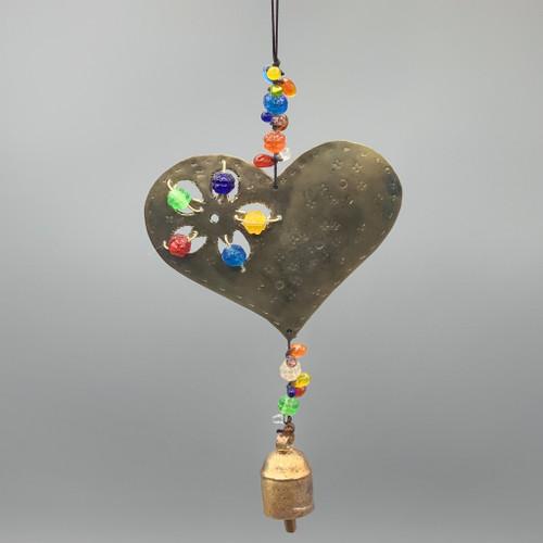 Rainbow Heart Nana Chime