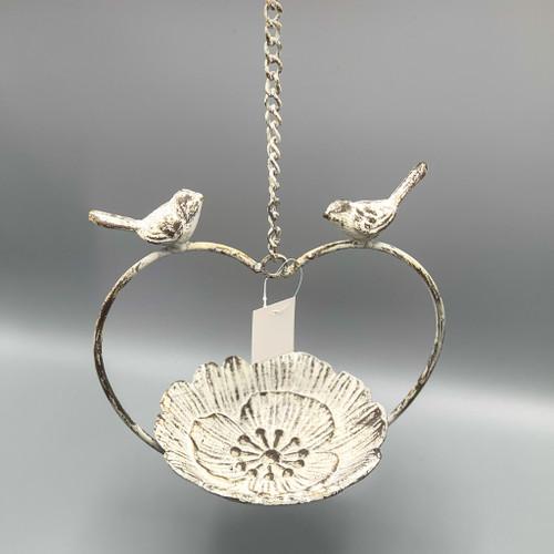 Iron Love Bird Feeder
