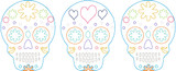 Sugar Skulls Quick Stitch Embroidery